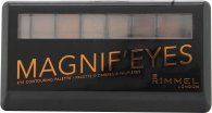 Rimmel Magnif'eyes Lidschatten Palette 7g - Keep Calm and Wear Gold