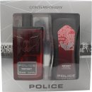 Police Instinct Man Gift Set 100ml EDT + 250ml Shower Gel
