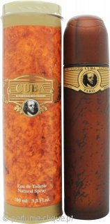 Cuba Gold Eau De Toilette 100ml Spray